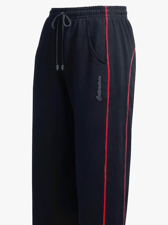 Catamaran Sports Freizeithose - schwarz-rot