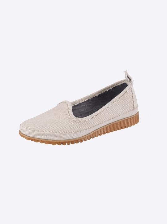 Andrea Conti Slipper - jeansblau-bleached