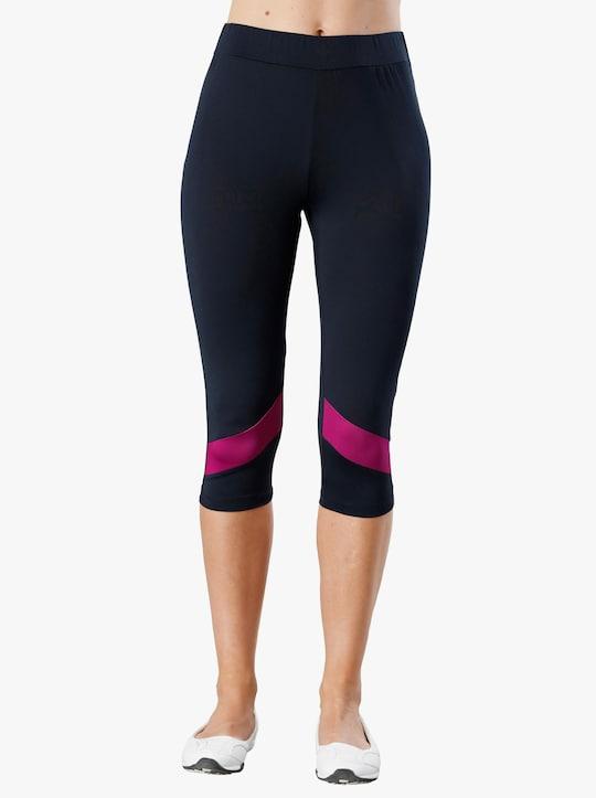 Capri-Leggings - marine-pink