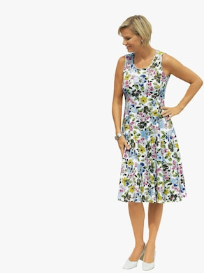 Jersey-Kleid - bunt