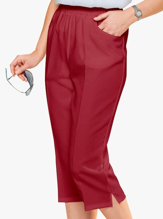 Capri-legging - rood