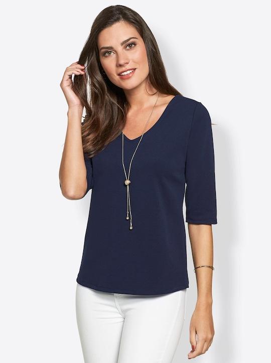 Fair Lady Shirt - nachtblau