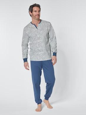 wäschepur Pyjama - jeansblauw