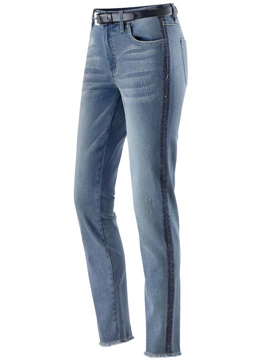 Jeans - dark blue-denim
