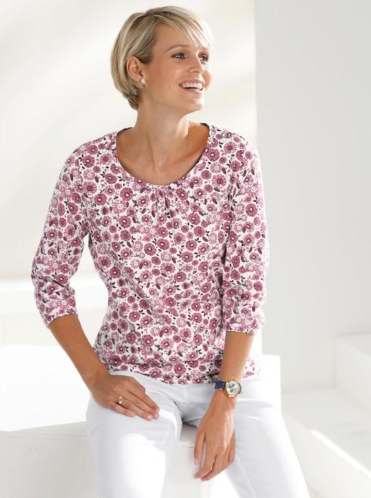 Shirt - rosé-bedruckt