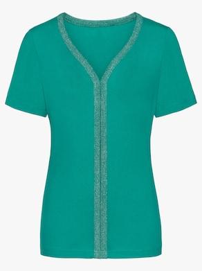 Shirt - smaragd