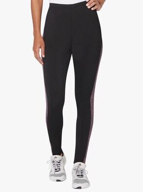 Sporthose - rosé-schwarz