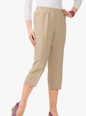 Capri kalhoty - béžová