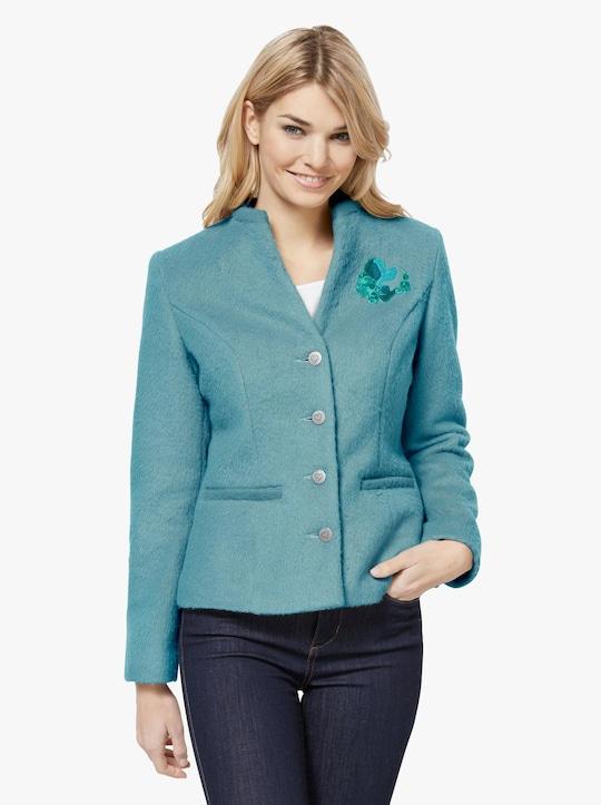 Linea Tesini Fleece-Jacke - aquamarine