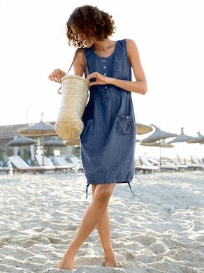 Kleid - blue-stone-washed