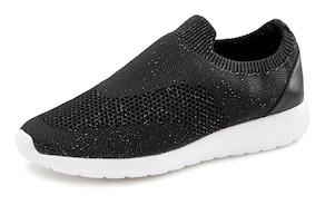 LASCANA Sneaker - schwarz