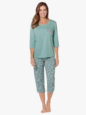 Schlafanzüge - lindgrün + bleu