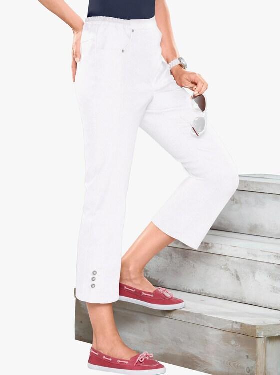 3/4-jeans - wit