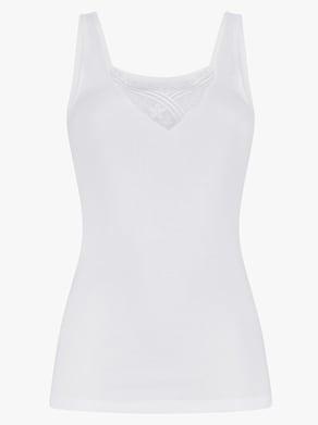 Thieme Achselhemd - weiß