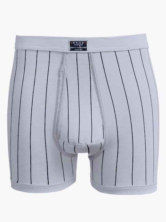 ESGE Krátké kalhoty - světlešedá-proužek