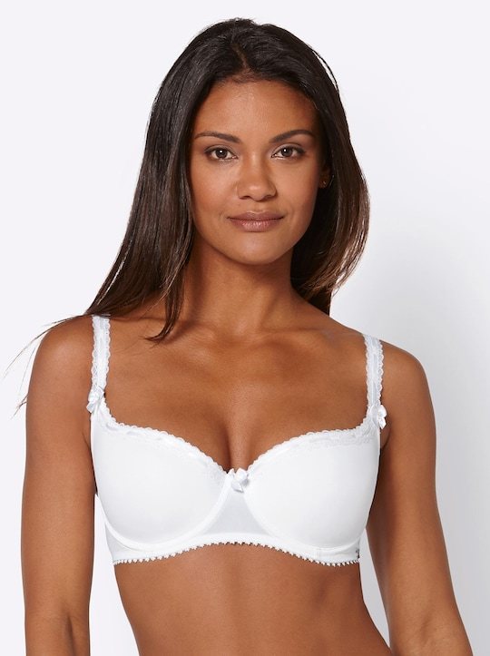 Cybele Push-Up-BH mit Bügel - weiß