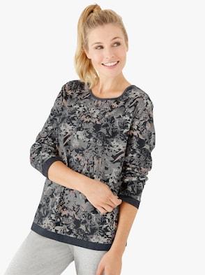 Shirt - anthrazit-bedruckt