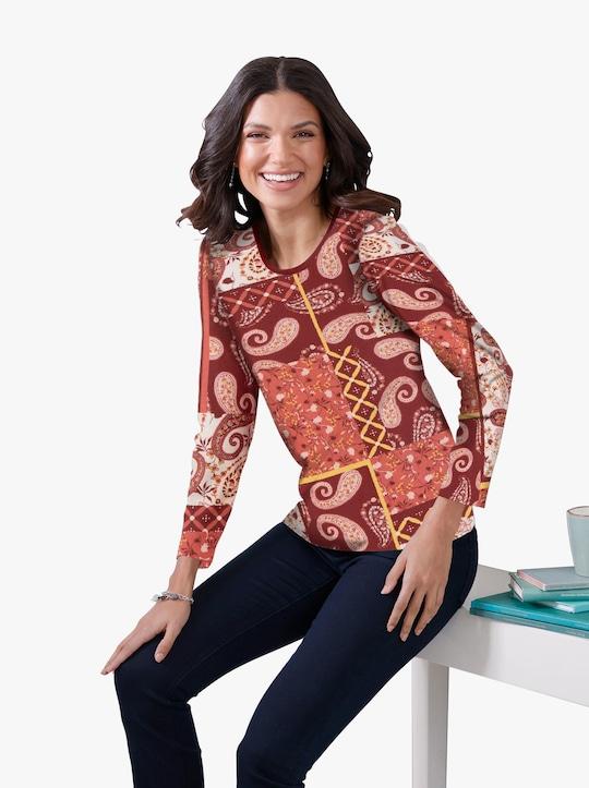 Tričko - terra-vzor