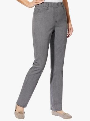 Džínsy - sivá džínsovina
