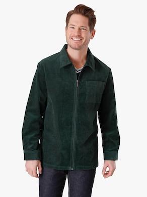 Hemdjacke - dunkelgrün