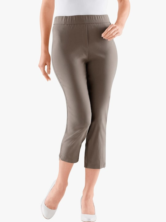 Adelina by Scheiter 7/8-Hose - taupe