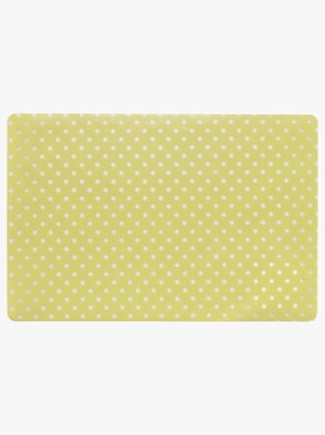 2 placemats - geel