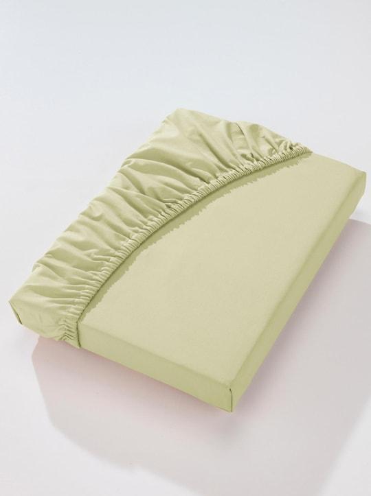 Biberna Betttuch - lindgrün