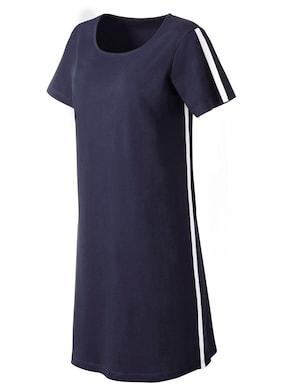 Jersey-Kleid - marine