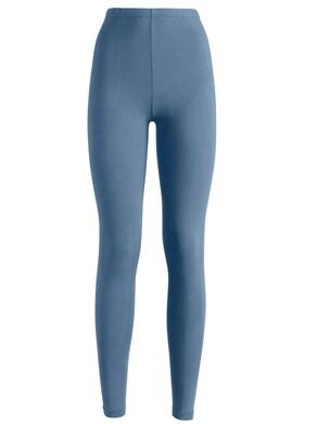 wäschepur Leggings lang - schwarz + jeansblau