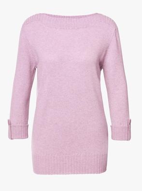Pullover - rosé-meliert