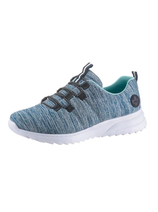 Rieker Sneaker - blau-meliert
