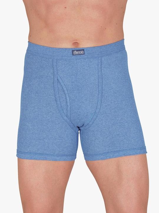 KINGsCLUB Krátké kalhoty - světlemodrá-melír