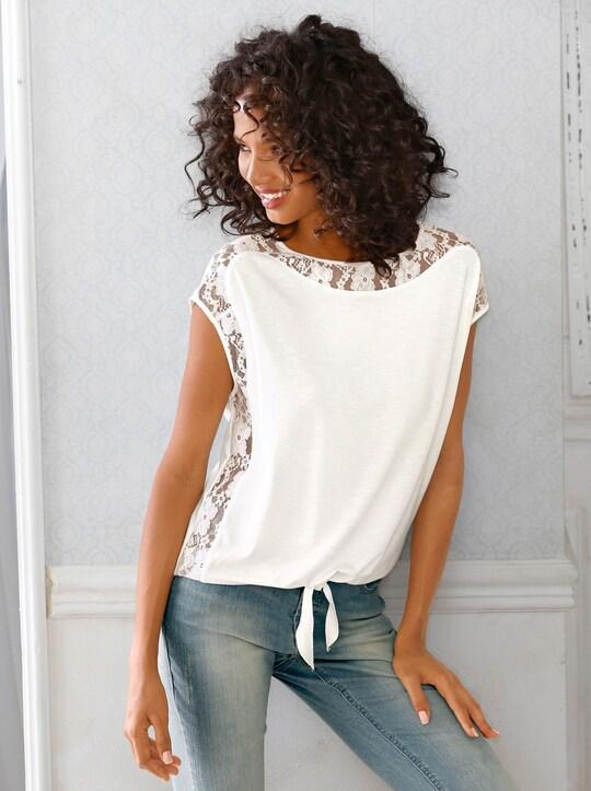 Fair Lady Shirt - wollweiß