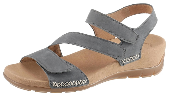 Gabor Sandaal met riempjes - grijsblauw