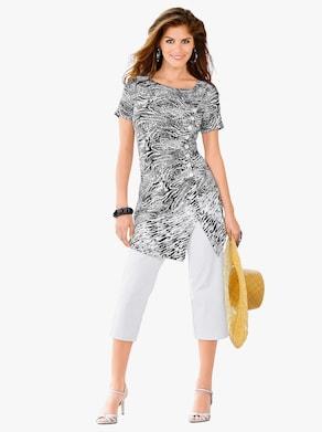 Shirt - schwarz-weiß