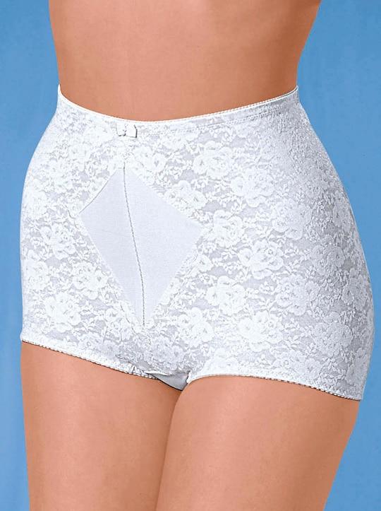 Naturana Miederhose - weiß