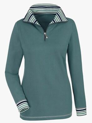 Sweatshirt - jadegrün