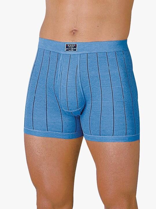 ESGE Krátké kalhoty - světlemodrá-proužek