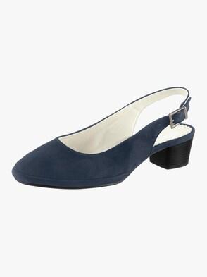 Slingpumps - blau