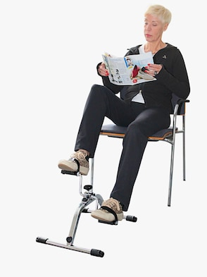 Pedaltrainer - Silber
