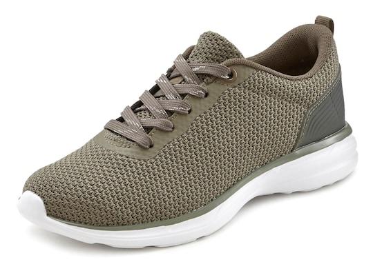 LASCANA Sneaker - olijfgroen