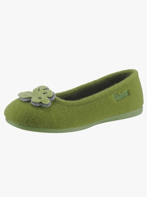Thies Hausschuh - grün