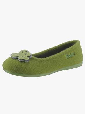 Hausschuh - grün