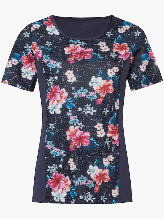 Shirt - marine-bedruckt
