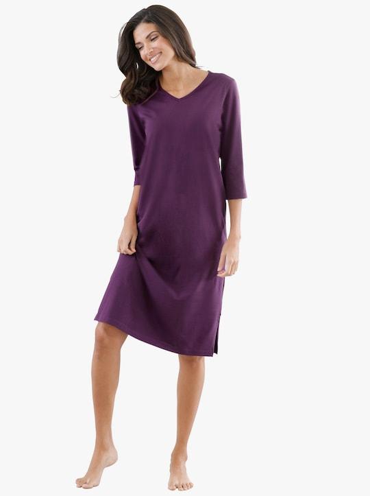 Nachthemd - druif+druif gedessineerd