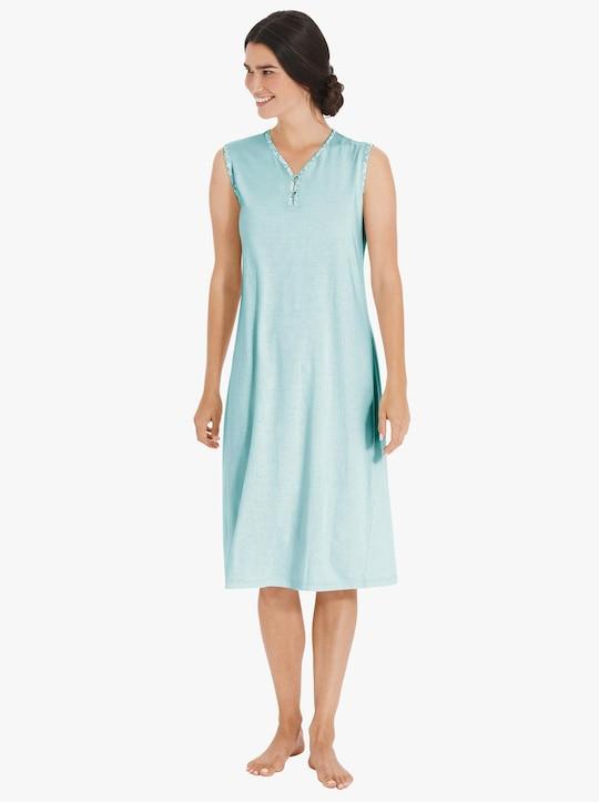 wäschepur Nachthemd - zartmint-bedruckt