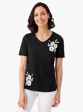 Tričko - čierna