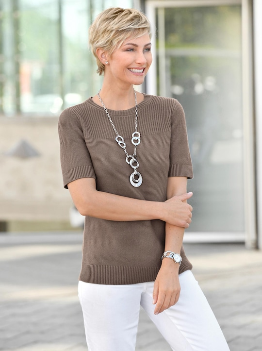 Collection L Pullover - taupe