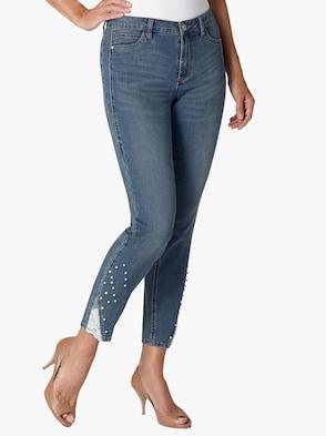 Jeans - jeansblau
