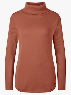 Collection L Pullover - zimt